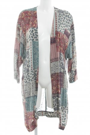 Edc Esprit Blouse Jacket abstract pattern beach look