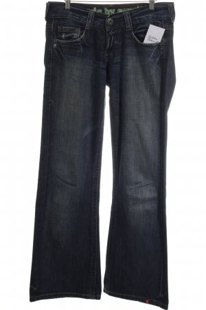 Edc Esprit Boot Cut Jeans blau Casual-Look