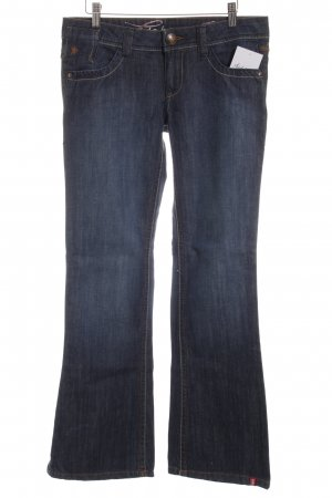 Edc Esprit Boot Cut Jeans blau Casual-Look