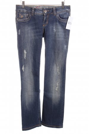 Edc Esprit Boot Cut Jeans dunkelblau Casual-Look
