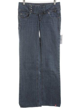 Edc Esprit Boot Cut Jeans graublau schlichter Stil