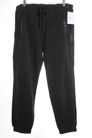 Edc Esprit Chinohose schwarz-dunkelblau sportlicher Stil