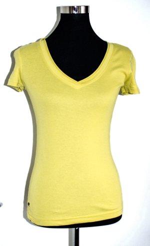 EDC Esprit Hochwertiges Shirt gelb, S, neu, Baumwolle, ungetragen, S / 36