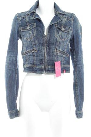 Edc Esprit Jeansjacke kornblumenblau Jeans-Optik