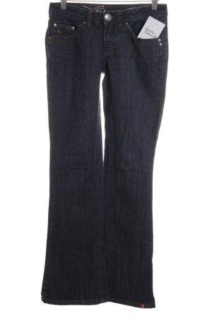 Edc Esprit Jeansschlaghose blau Casual-Look