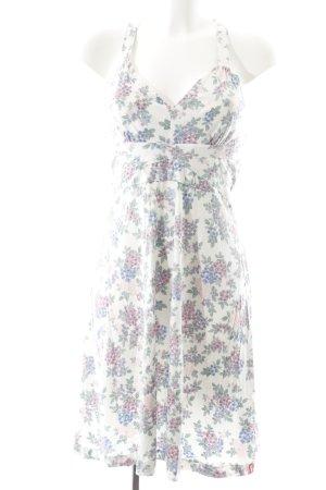 Edc Esprit Jerseykleid Blumenmuster Romantik-Look