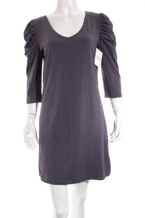 Edc Esprit Jerseykleid grau schlichter Stil