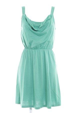 Edc Esprit Jerseykleid grün schlichter Stil