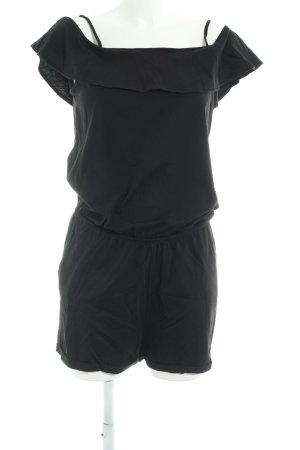 Edc Esprit Jumpsuit schwarz Casual-Look