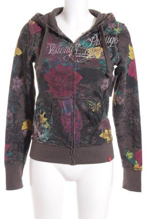 Edc Esprit Kapuzensweatshirt florales Muster Casual-Look
