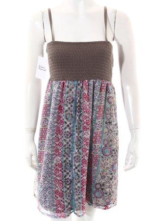 Edc Esprit Kleid abstraktes Muster Beach-Look