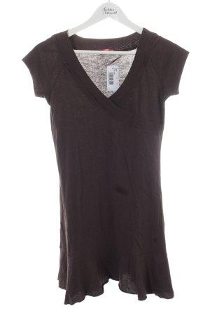 Edc Esprit Kleid braun Casual-Look