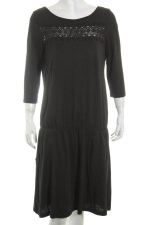 Edc Esprit Kleid schwarz Beach-Look