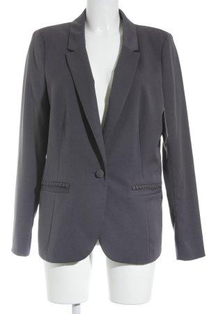 Edc Esprit Blazer corto grigio scuro stile professionale