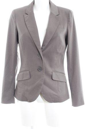 Edc Esprit Blazer corto grigio-grigio scuro stile professionale