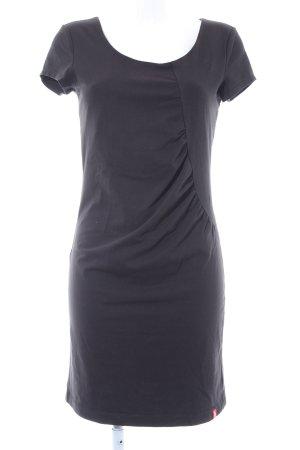 Edc Esprit Kurzarmkleid schwarz Elegant
