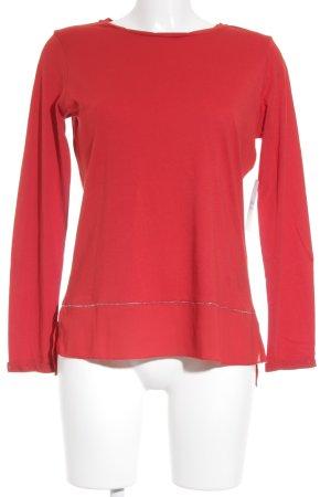 Edc Esprit Langarm-Bluse rot Elegant