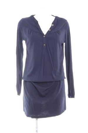 Edc Esprit Langarmkleid dunkelblau schlichter Stil