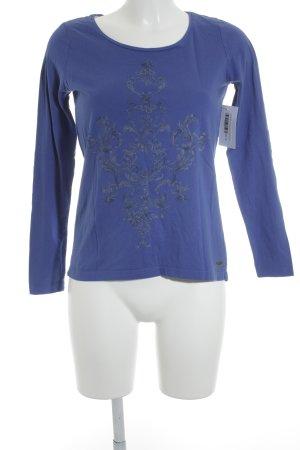 Edc Esprit Longsleeve blau Casual-Look