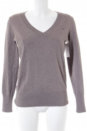 Edc Esprit Longsleeve grey brown flecked casual look
