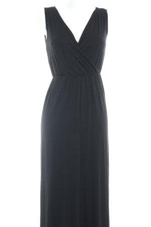 Edc Esprit Maxikleid schwarz Elegant