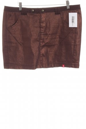 Edc Esprit Minirock bronzefarben Casual-Look
