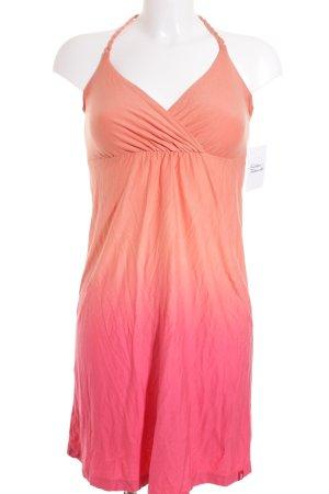Edc Esprit Halterjurk licht Oranje-lichtrood kleurverloop Beach-look