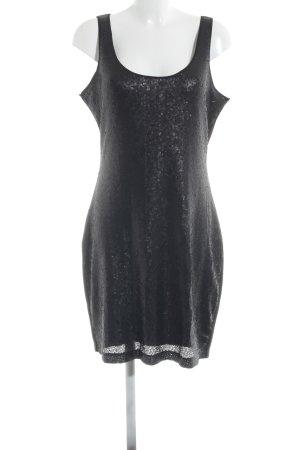 Edc Esprit Vestido de lentejuelas negro elegante