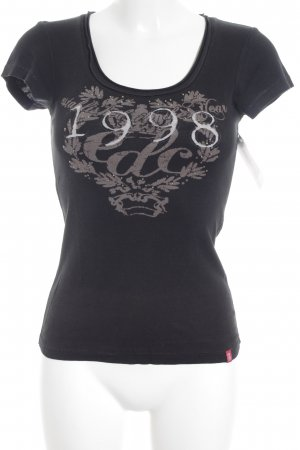 Edc Esprit Print-Shirt Motivdruck Casual-Look