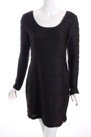 Edc Esprit Schlauchkleid schwarz klassischer Stil