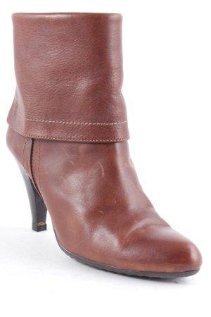 Edc Esprit Schlüpf-Stiefeletten braun Street-Fashion-Look