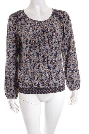 Edc Esprit Schlupf-Bluse florales Muster Casual-Look
