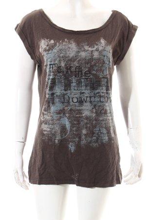 Edc Esprit Shirt braun Casual-Look