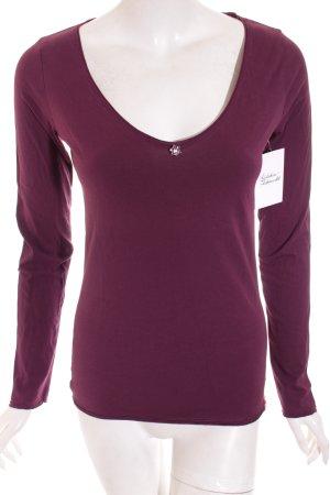 Edc Esprit Shirt braunviolett Casual-Look