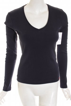 Edc Esprit Shirt dunkelblau Casual-Look