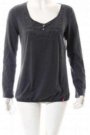 Edc Esprit Shirt dunkelgrau Casual-Look