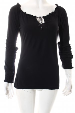Edc Esprit Shirt schwarz Casual-Look