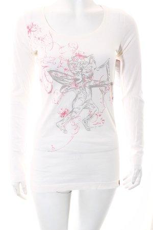 Edc Esprit Shirt weiß Casual-Look