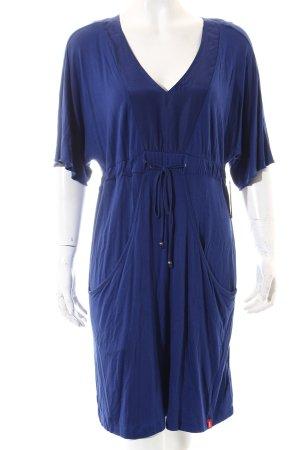 Edc Esprit Shirtkleid blau Beach-Look