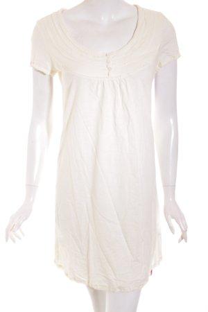 Edc Esprit Shirtkleid creme Casual-Look