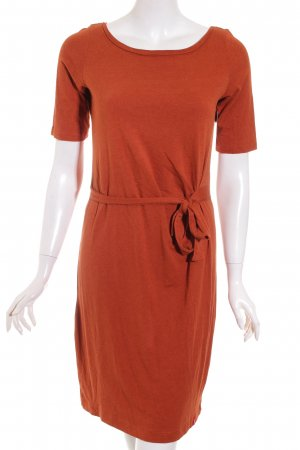 Edc Esprit Shirtkleid dunkelorange Casual-Look