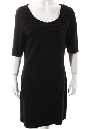 Edc Esprit Shirtkleid schwarz Casual-Look