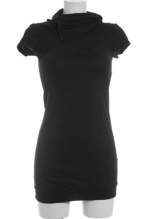 Edc Esprit Shirtkleid schwarz schlichter Stil