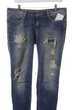 Edc Esprit Skinny Jeans blau-blassblau Street-Fashion-Look