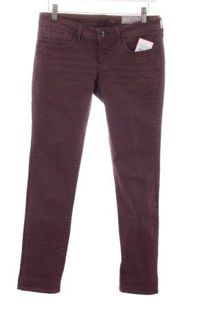 Edc Esprit Skinny Jeans bordeauxrot Casual-Look