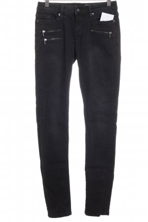 Edc Esprit Skinny Jeans dunkelgrau-schwarz Street-Fashion-Look