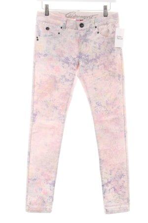Edc Esprit Skinny Jeans florales Muster Casual-Look