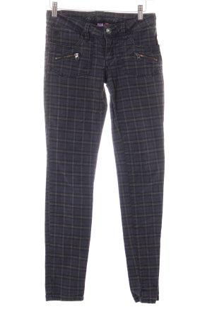 Edc Esprit Skinny Jeans Karomuster Casual-Look