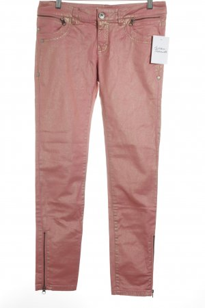Edc Esprit Skinny Jeans lachs-goldfarben extravaganter Stil