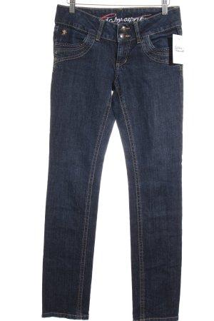 Edc Esprit Slim Jeans dunkelblau Casual-Look